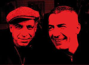 Daniel Paris Clavel et Patrick Carde dit Kiox